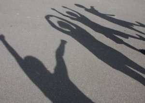Children's shadows