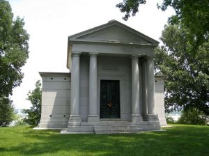 The Lemp family tomb.