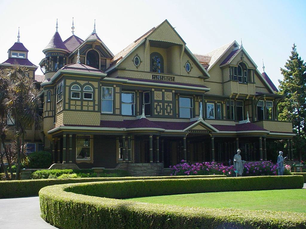 winchester house The house built by ghosts: the strange tale of the winchester mystery house: a 15-minute strange but true tale (15-minute books book 507) dec 14, 2014.