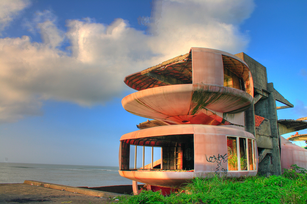 Abandoned The Sanzhi UFO Houses And Future That Never