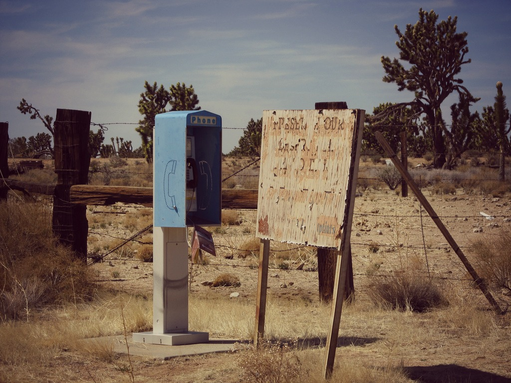 Encyclopaedia Of The Impossible The Mojave Phone Booth