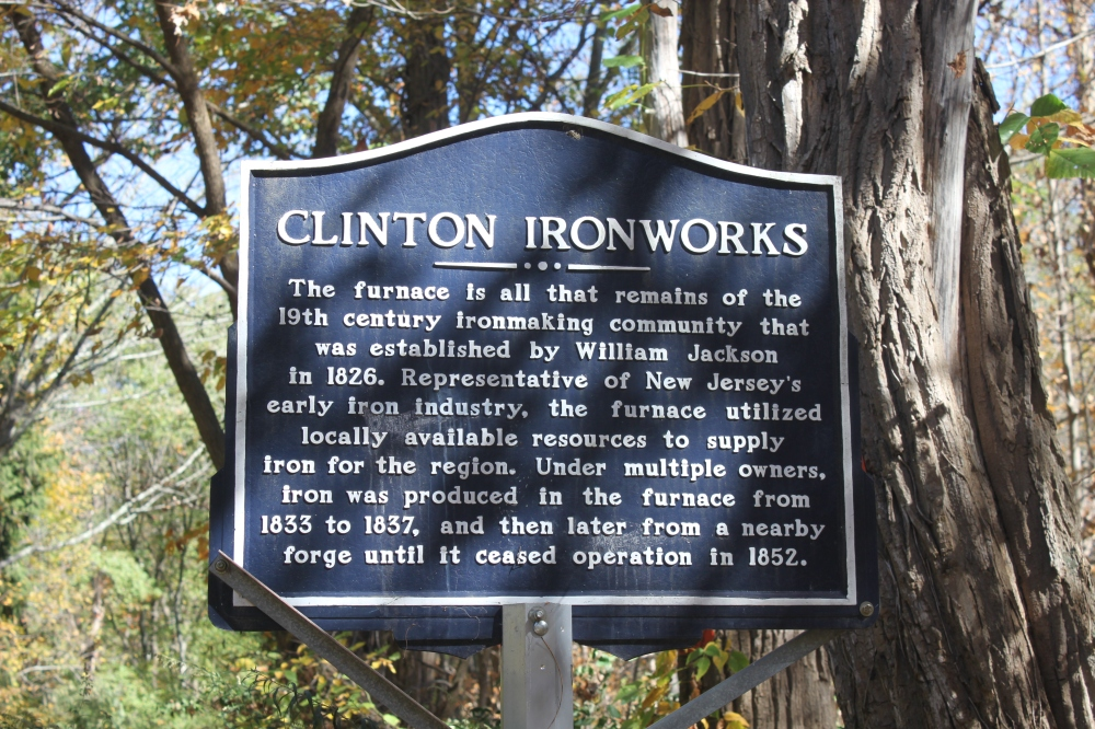 Clinton Road Furnace Sign