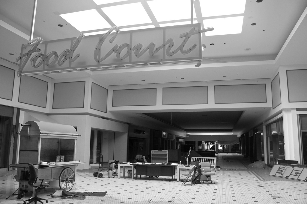Man Cave Store Dixie Mall : Abandoned the dead malls of america photos ghost