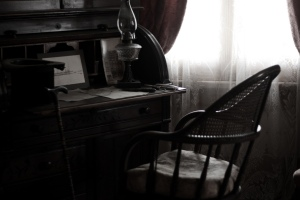 Whaley House desk
