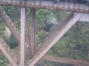 The Keddie Resort viewed from the Keddie Wye.